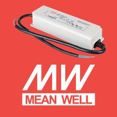 Alimentatore per led mean well 150W per esterno
