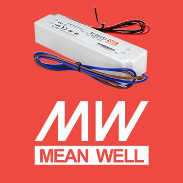Alimentatore per led mean well 60W per esterno