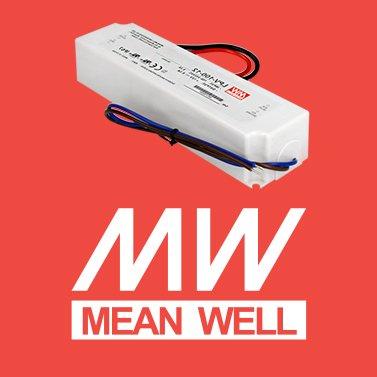 Alimentatore per led mean well 100W per esterno