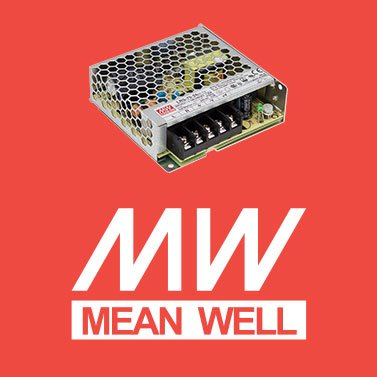Alimentatore per led mean well 50W