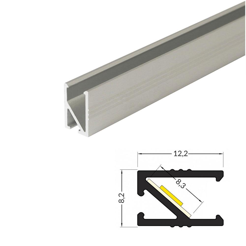 Profilo alluminio mobili