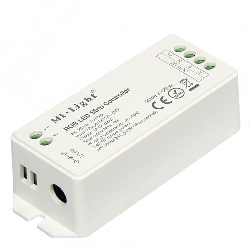 Ricevitore dimmer RGB 15A