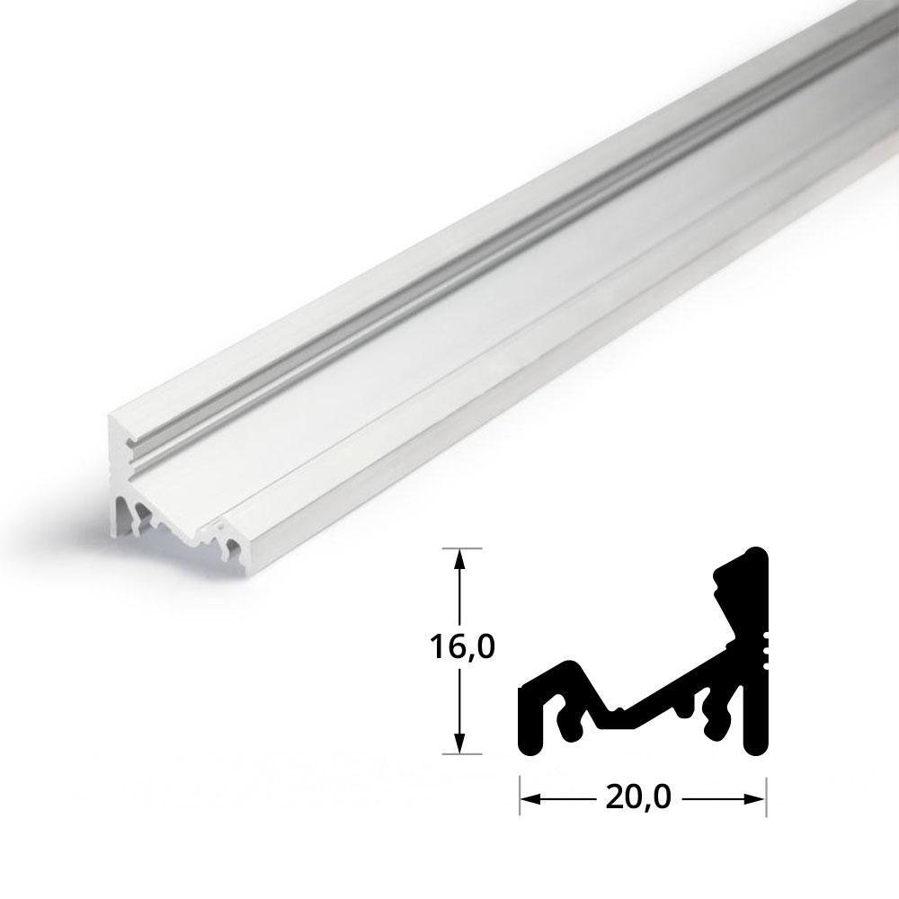 Profilo alluminio angolare 30