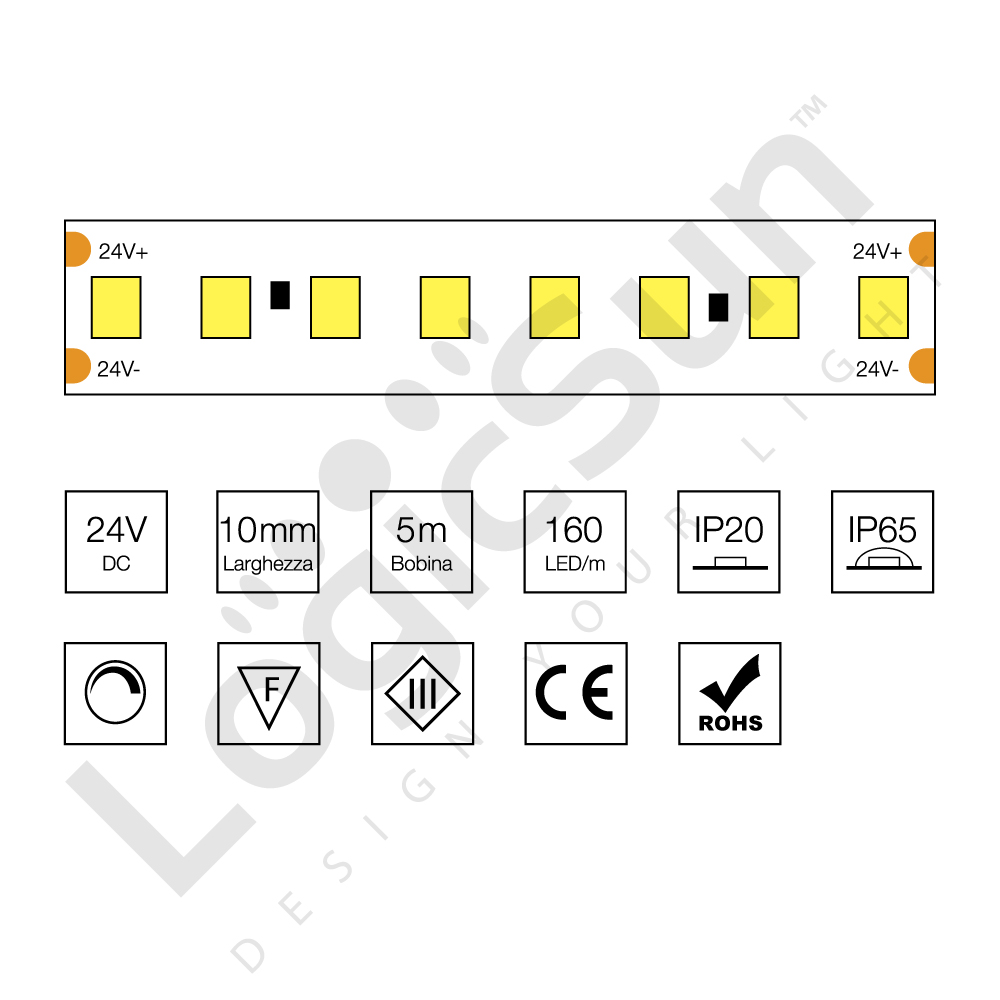 strip alta efficienza luminosa