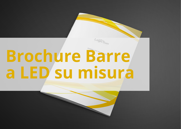Brochure barre a led su misura