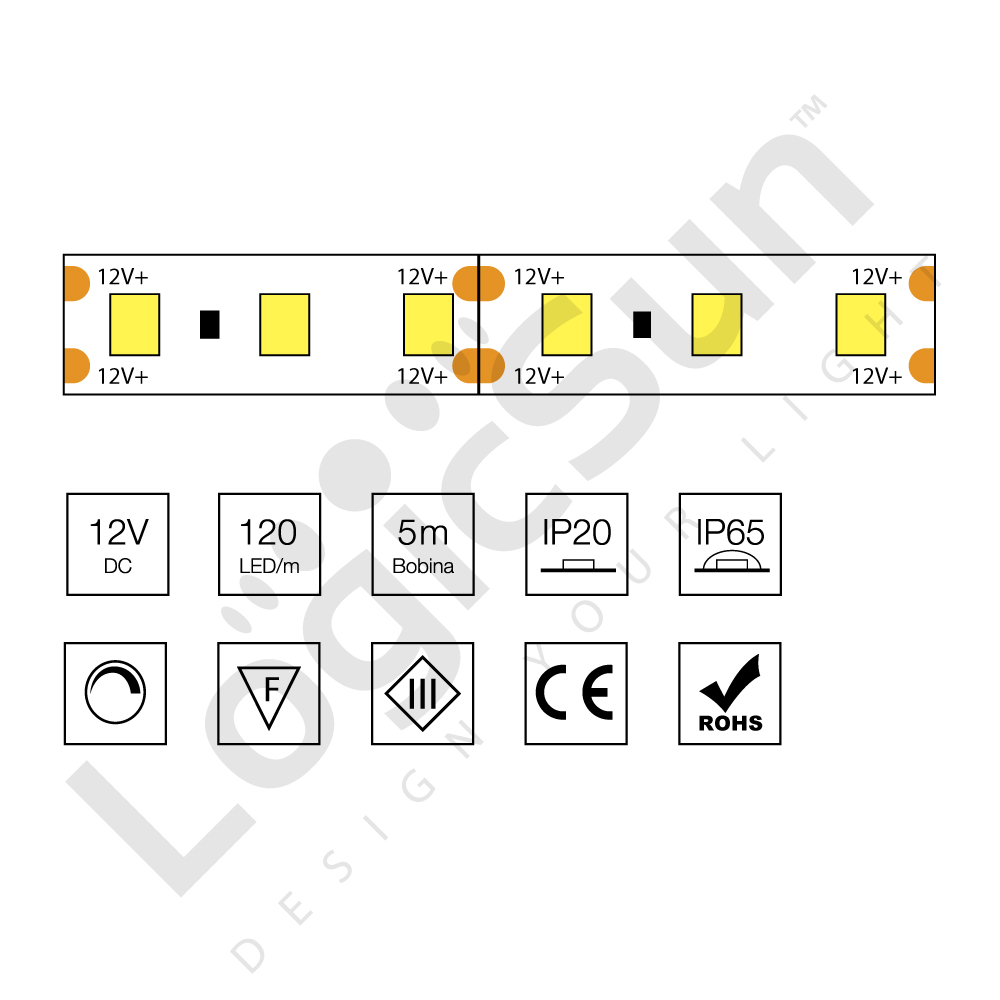 strip led flessibile 3528
