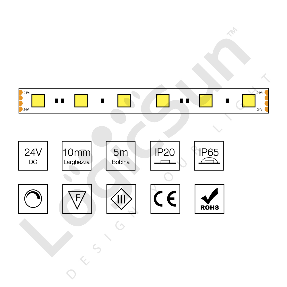 strip led flessibile 5050