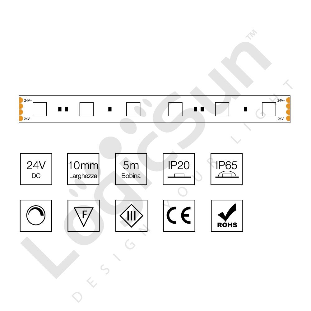 striscia flessibile led RGB